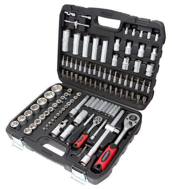 MARSHAL Набор инструментов 108 предметов 1/2'', 1/4'' (6гр.)(4-32мм) MARSHAL MT-4108 16622