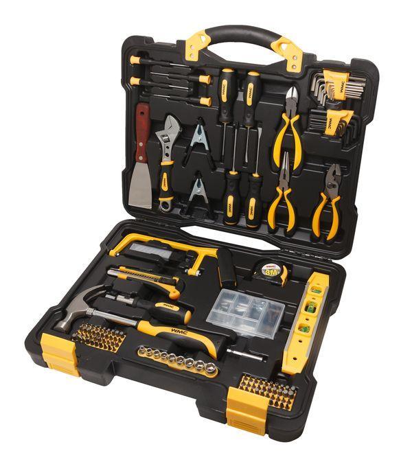 """WMC tools Набор инструментов 144 предмета 1/4""""(6гр.)(5-13мм) WMC TOOLS 20144 47010"""