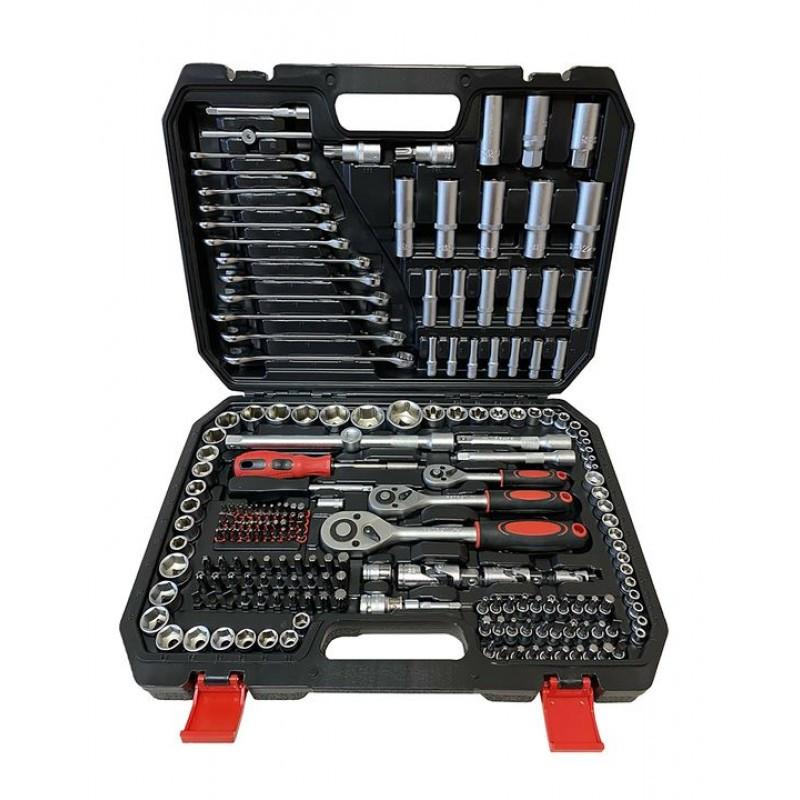 PATRON Набор инструментов 216 предметов 1/4''3/8''1/2''(6гр.)(4-32мм) PATRON P-38841 47369