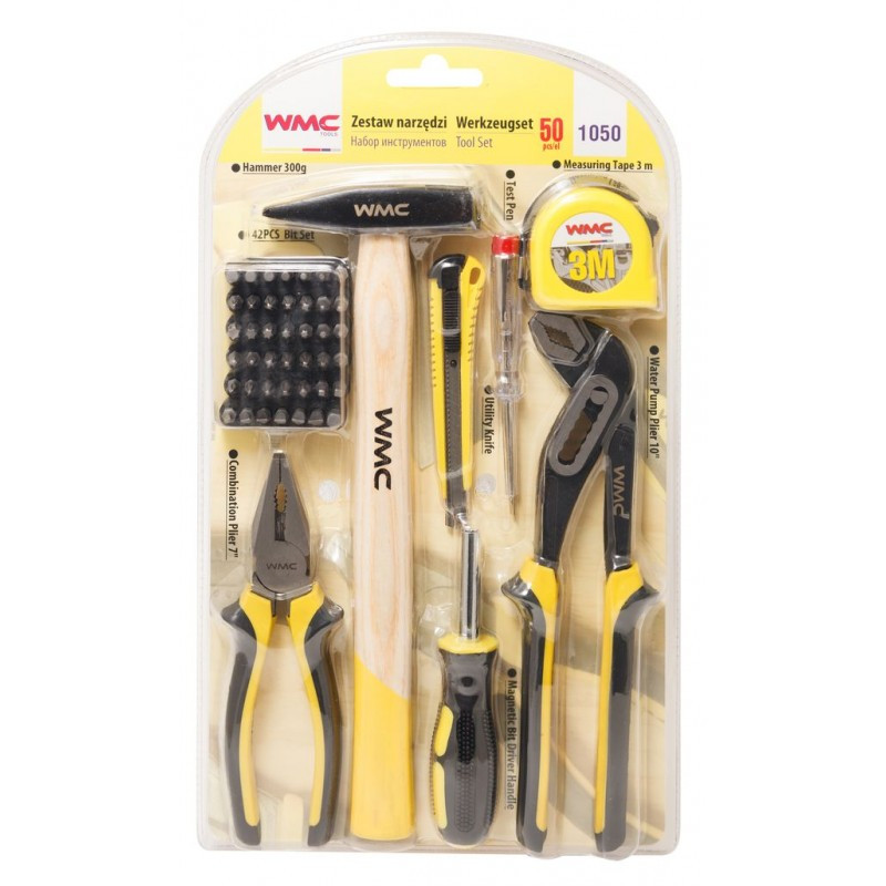 WMC tools Набор инструментов 50пр. WMC TOOLS 1050 48160