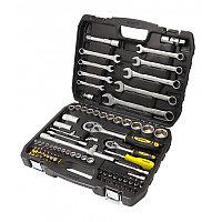 WMC tools Набор инструментов 82пр. 1/4'', 1/2''(6гр)(4-32мм) WMC TOOLS 4821-5 48128