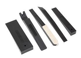 Forsage Набор инструментов для демонтажа внутренней обшивки салона автомобиля 5 предметов(ДхШ: 250х20, 249х20,