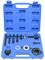 ROCKFORCE Набор инструментов для снятия и установки шкивов 12 предметов, в кейсе ROCKFORCE RF-912G12A 17713