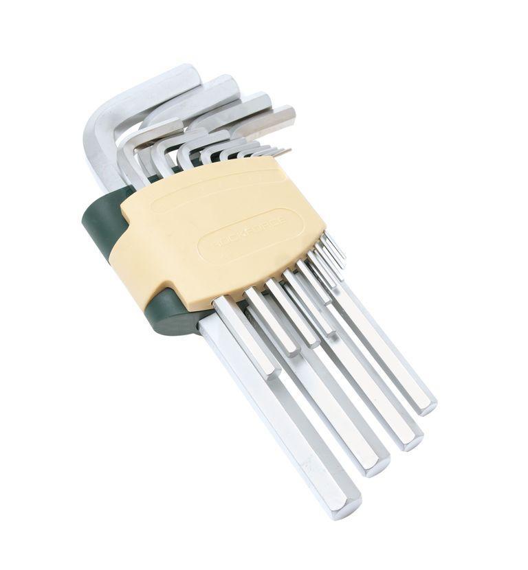 ROCKFORCE Набор ключей Г-образных 6-гранных 11 предметов(1.5, 2, 2.5, 3, 4, 5, 6, 7, 8, 10, 12мм)в пластиковом