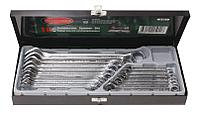 ROCKFORCE Набор ключей комбинированных 16 предметов(6-19,22, 24мм),в металл. кейсе ROCKFORCE RF-5161 506