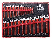 Kingtul kraft Набор ключей комбинированных 26 предметов (6-28, 30, 32мм) на полотне KingTul kraft KT-3026k