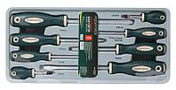 ROCKFORCE Набор отверток магнитных S2, 8 предметов(PH:1х75, 2x38, 2х100, 3х150мм; SL: 5.5х75, 6.5х38, 6.5х100,