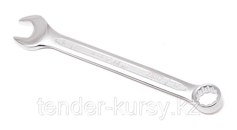 ROCKFORCE Ключ комбинированный 15мм ROCKFORCE RF-75515 708
