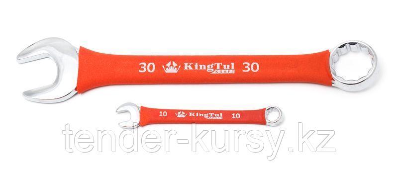 Kingtul kraft Ключ комбинированный 21мм в прорезиненной оплетке KingTul kraft KT-30021k 10263