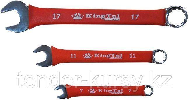 Kingtul kraft Ключ комбинированный 25мм в прорезиненной оплетке KingTul kraft KT-30025k 10315