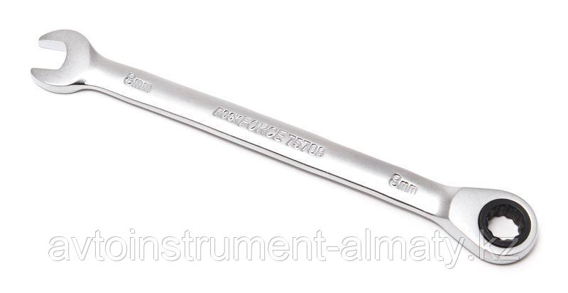 ROCKFORCE Ключ комбинированный трещоточный 22мм ROCKFORCE RF-75722 10565