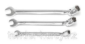 Partner Ключ комбинированный шарнирный торцовый+рожковый 14мм Partner PA-FS314(75314) 12569
