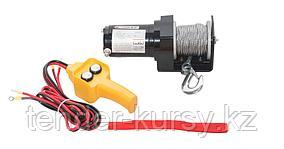 Forsage Лебедка автомобильная 0.9Т, 12V  (стальной трос, диаметр троса-4.5мм) Forsage F-TRH92000 2332