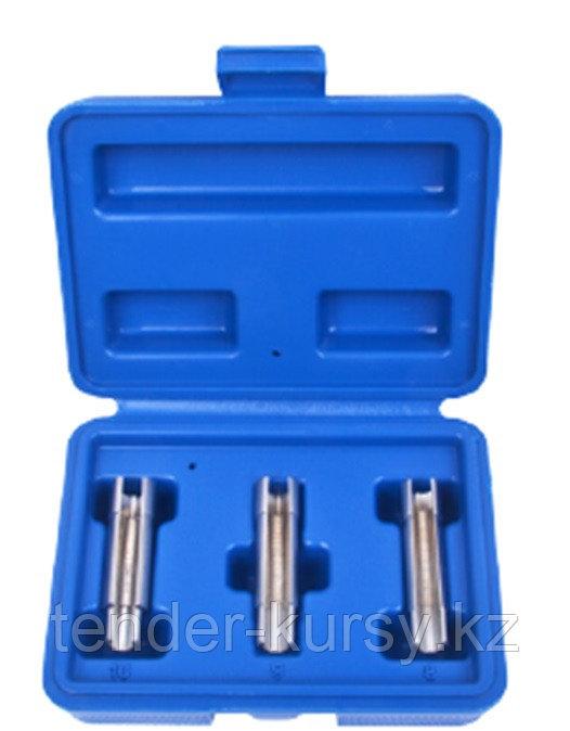 ROCKFORCE Набор головок удлиненных для свечей накаливания под ключ 10мм (8, 9, 10мм) 3 предмета, в кейсе