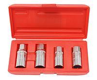 Forsage Набор шпильковертов 4 предмета(6,8,10,12мм),в кейсе Forsage F-5042 4560