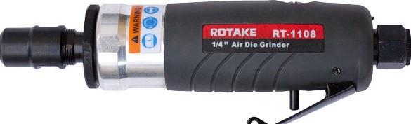 Rotake Пневмобормашинка профи с цанговым зажимом 6мм 25000 об/мин Rotake RT-1108 9530