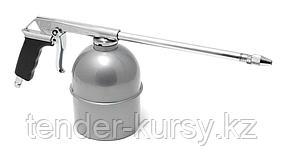 ROCKFORCE Пневмопистолет для мойки двигателя с бачком(расход воздуха 130 л/мин, емкость бачка  600мл)