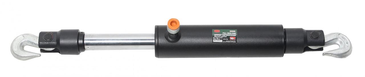 ROCKFORCE Цилиндр гидравлический обратного действия 10т (ход штока - 130мм, длина общая - 715мм) ROCKFORCE