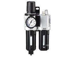 """M7 Блок подготовки воздуха (фильтр тонкой очистки + регулятор + маслодобавитель) 1/4"""" Пропускная способность"""