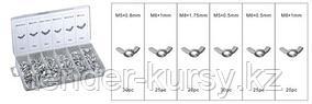 Forsage Гайки барашковые, 150 предметов (М3, М4, М5, М6, М8, М10) Forsage F-843 12682