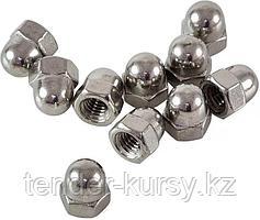 Forsage Гайки колпачковые, 150 предметов (М3, М4, М5, М6, М8, М10) Forsage F-842 12677