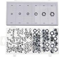 Forsage Гайки самоконтрящиеся, 150 предметов(М3, М4, М5, М6, М8, М10) Forsage F-845 12679