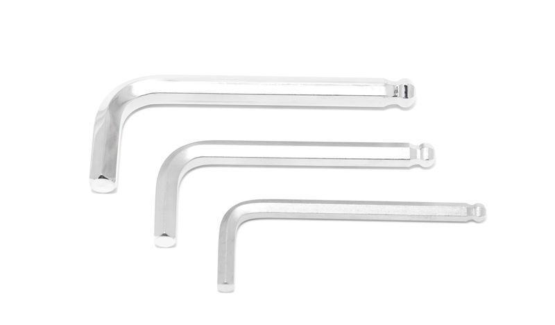 Forsage Ключ 6-гранный Г-образный с окр. наконечником 4мм Forsage F-76504 9833