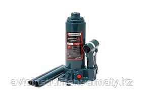 Forsage Домкрат бутылочный  4т с клапаном (высота подхвата - 190мм, высота подъема 370мм, ход штока-120мм, ход