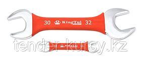 Kingtul kraft Ключ рожковый 30х32мм в прорезиненной оплетке KingTul kraft KT-103032k(323032) 11071