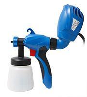 Forsage electro Краскопульт ручной электрический (220В, 350Вт, бачок 0.8л, сопло 2.0мм, расход краски
