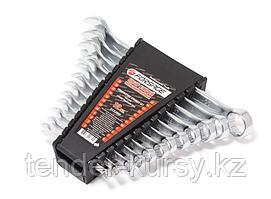 Forsage Набор ключей комбинированных 12 предметов (6-14, 17,19, 22мм) в пласт.держателе Forsage F-5122MP 10353