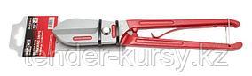 """BaumAuto Ножницы по металлу с возвратной пружиной """"прямой рез"""" 10""""-250мм, на пластиковом держателе BaumAuto"""