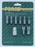 """Forsage 3/8"""" набор бит торкс с битодержателем 9 предметов (Т20,Т25,Т30,Т40,Т45,Т50,Т55,Т60) Forsage F-3094"""