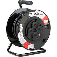 Yato Удлинитель электрический на катушке 30м 4 розетки с крышками Yato YT-81053 367