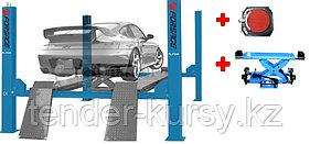 Forsage Подъемник четырехстоечный электрогидравлический с удлиненной базой г/п 5т в комплекте с траверсой и
