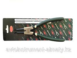ROCKFORCE Съемник стопорных колец гнутый на разжим(90°, L-180мм),в блистере ROCKFORCE RF-609180SB 1074