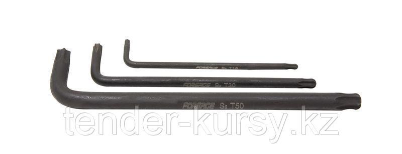 Forsage Ключ Г-образный TORX с шаром T25 Forsage F-76625BL 7814