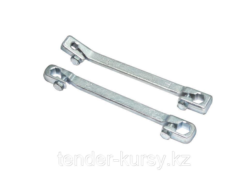 Partner Ключ для тормозных трубок с зажимом 7х11мм Partner PA-7510711C 6684