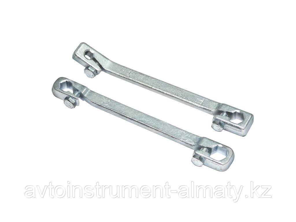 Partner Ключ для тормозных трубок с зажимом 9х11мм Partner PA-7510911C 6687