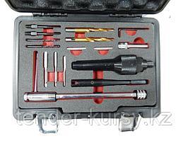 """Forsage Комплект инструментов для извлечения свечей накаливания и реставрации резьбы, в кейсе """"Pemium"""" Forsage"""