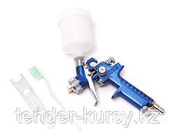 Partner Краскораспылитель с верхним пластиковым бачком (125мл, 0.8мм, 2.0bar, 29-57 л/мин, присоед. резьба