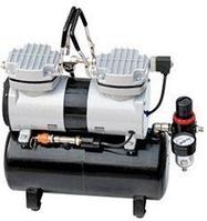 Rotake Миникомпрессор безмасляный (ресивер 3.5л, производительность  40л/мин, рабочее давление 3-4bar) Rotake