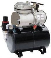 Rotake Миникомпрессор безмасляный (ресивер 3л, производительность  23л/мин, рабочее давление 3-4bar) Rotake