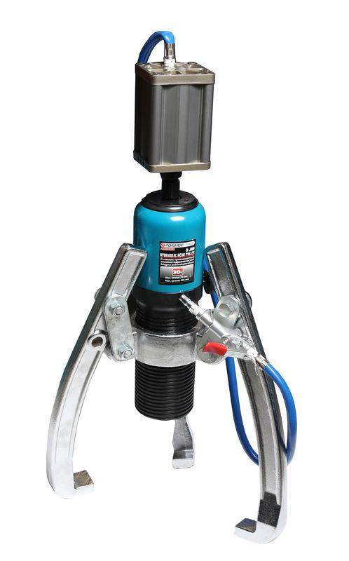 Forsage Съемник пневмогидравлический трехзахватный 20т(max захват-350мм, глубина захвата-205мм, ход