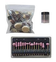 Forsage Набор аксессуаров для мини-дрелей, 80 предметов, в пластиковом кейсе Forsage F-GSK080 19746