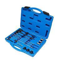 Forsage Набор инструментов для чистки колодцев форсунок и седел свеч накаливания 21 предмет, в кейсе Forsage