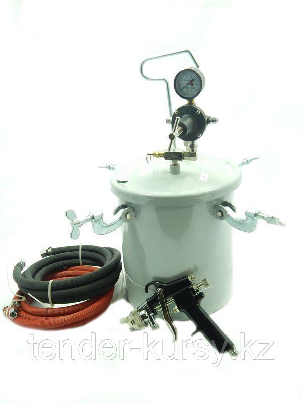 Partner Пневмопистолет окрасочный с выносной емкостью 10л (сопло 2,0мм) Partner 8312 7641