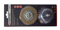 Forsage Набор кордщеток латунных комбинированный для дрели, 2 предмета(75мм), в блистере Forsage F-BWS201