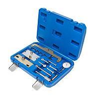 Forsage Набор фиксаторов для обслуживания двигателей OPEL, ISUZU 15 предметов(1.6D, 1.7D), в кейсе Forsage