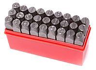 Forsage Набор штампов буквенных 3мм, 27 предметов, в пластиковом футляре Forsage F-02703 16312